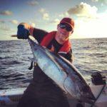 Good day for Tuna Fishing