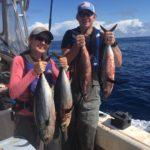Husband and Wife Albacore Tuna Fishing