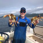 crabbing in oregon with T-Sea Charters 4