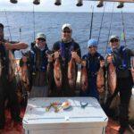 T-Sea Charters Tuna fishing 2019